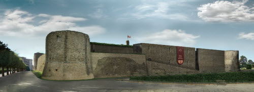 Vista virtuale del Castello